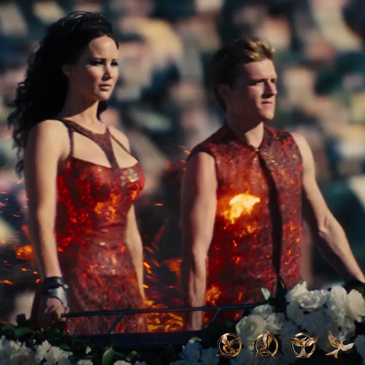 Every revolution begins with a spark. 🔥 #Happy4thOfJuly from #HungerGames!