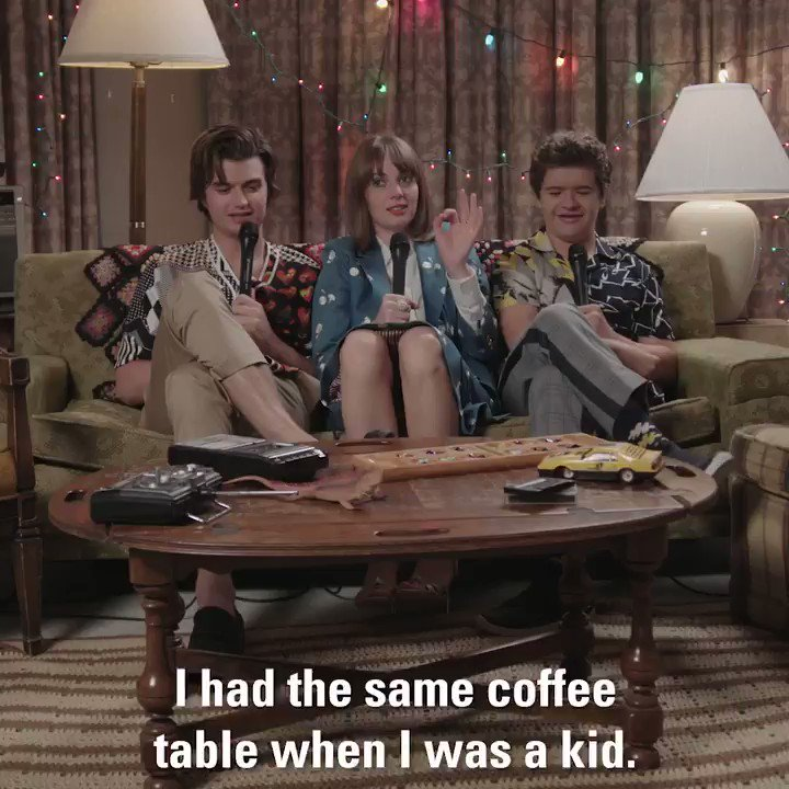 Until we get another season of @Stranger_Things, I'll be reminiscing about that time we played #ThisOrThat: 80's edition with the cast! 💫