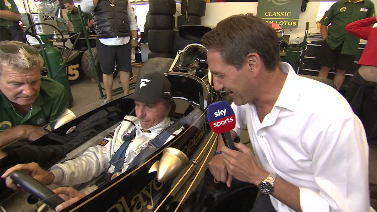 A very emotional @emmofittipaldi was almost brought to tears after reuniting with his legendary championship winning Lotus 72 at the @fosgoodwood #FOS