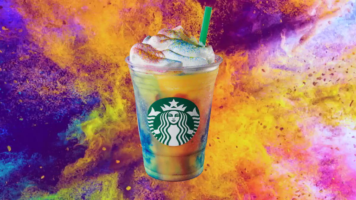 Tie-Dye Frappuccinos Are Officially at Starbucks, and Unfortunately I Will Order One