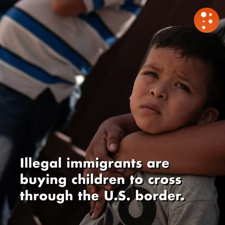 Illegal immigrants are using children to pose as fake family units in order to get through the U.S. border. These children are taken from their families, and sometimes raped, abused, and recruited into gangs. Why does the left incentivize the trafficking of innocent children?