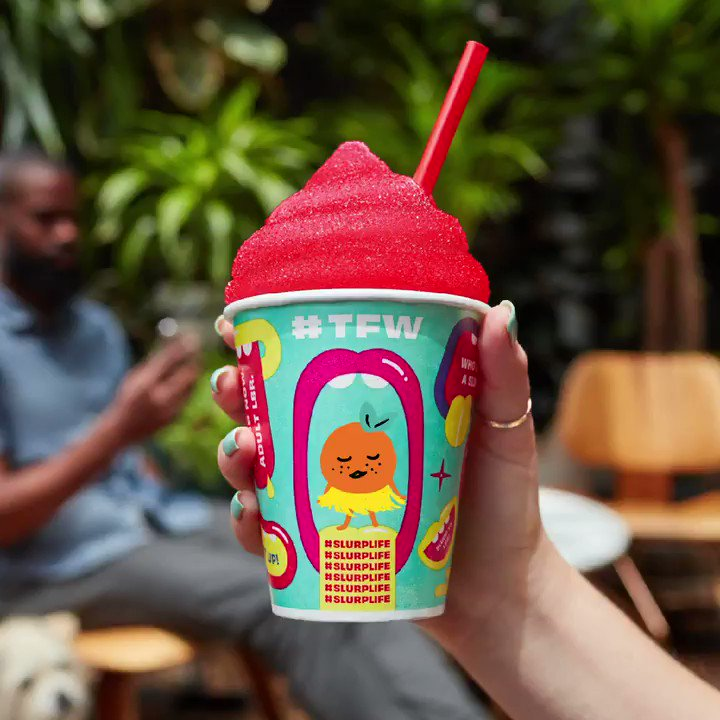 #TFW your tongue matches your shirt because of a free Slurpee on 7-Eleven Day. 11am to 7pm. 7/11/19. #slurplife #7ElevenDay