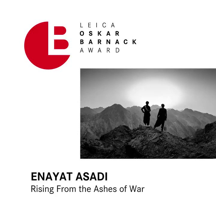 Seeing hope in the eyes of people, who had to flee their homes to escape the violence of war is what LOBA 2019 finalist Enyat Asadi's series transports in a sensitive way. Watch the full video: http://bit.ly/2XdS4Sj #LOBA2019
