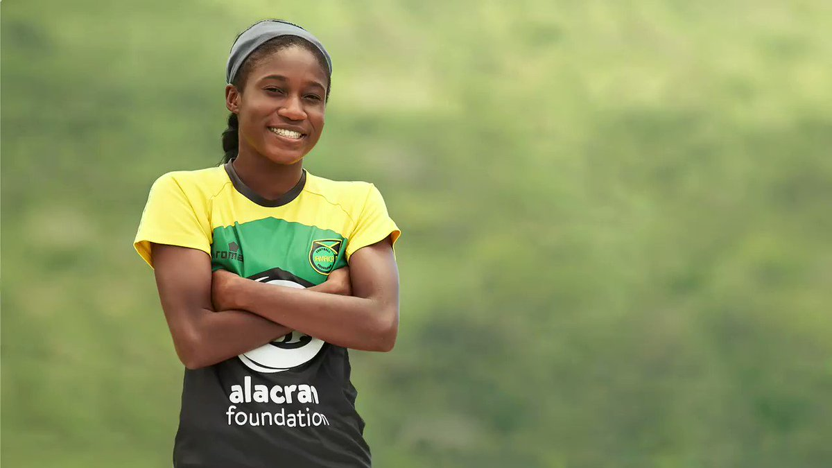 The Pan Am Games (@Lima2019Juegos) are almost here! Get to know #ReggaeGirlz defense player #DeneishaBlackwood as she discusses being Jamaican, overcoming obstacles and personal goals. #Lima2019 #JugamosTodos #JFFLive @BobMarleyFND @Reggae_Girlz_F @AlacranFNDN #AlacranFoundation