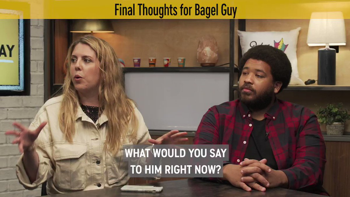 @ComedyCentral's photo on #bagelguy