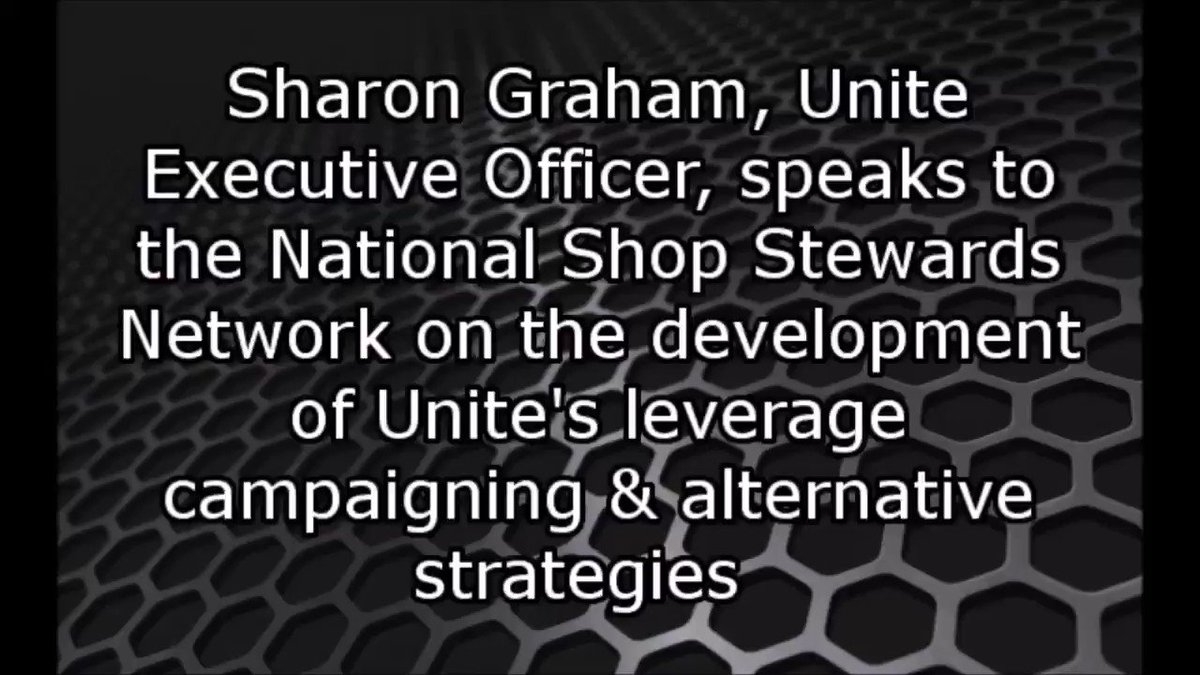 """""""We must be prepared to fight by whatever means possible. I make no apologies for this sort of action against an employer that decimates communities by axing 4,000 jobs and just walking away. Whatever you get is coming."""" Sharon Graham to @NSSN_AntiCuts"""