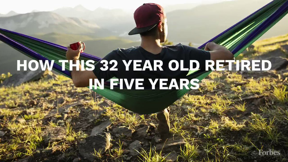 How this 32-year-old retired in 5 years: https://www.forbes.com/sites/ryanderousseau/2019/07/10/this-32-year-old-retired-in-five-years-his-friends-family-have-no-idea-he-has-escaped-the-9-to-5/?utm_source=twitter_video&utm_medium=social&utm_campaign=forbes…