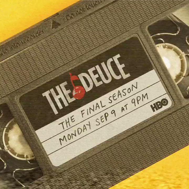 The Deuce final season is coming to VHS. JK, but can you imagine?