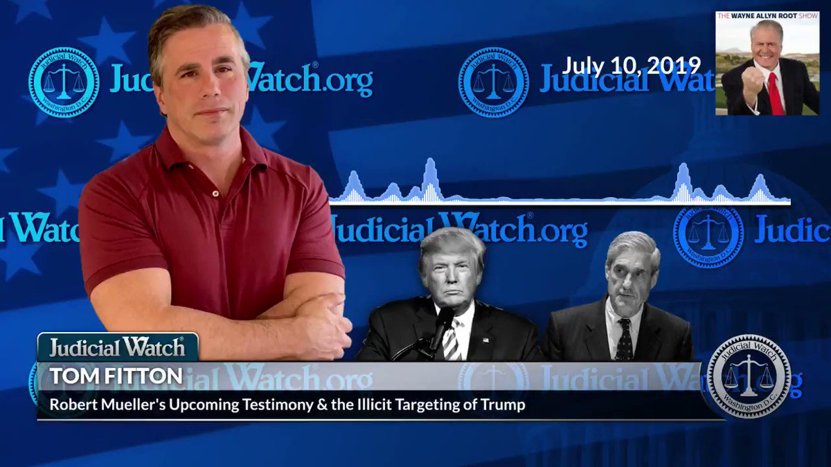 ".@TomFitton: ""We are all supposed to pretend that Mueller's investigation was legit & it was part of an effort to remove the president from office improperly by making up allegations of foreign interference and conspiracy that they knew didn't exist."" http://jwatch.us/YpV316"