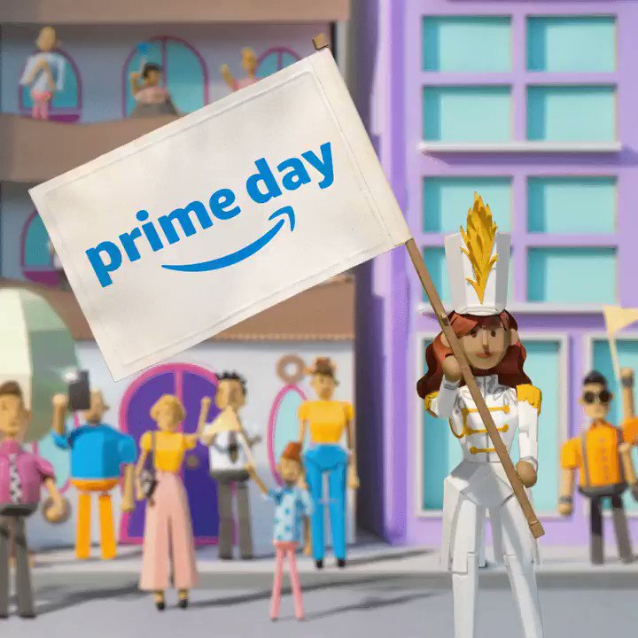 Amazon Prime Day starts Monday! Two days of deals bound to make waves. July 15th and 16th. amzn.to/2XAPi4G