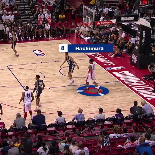 👏 @rui_8mura gets it done on BOTH sides of the floor in #NBABreakdown! #NBASummer  NYK/WAS - 6pm/et, @NBATV