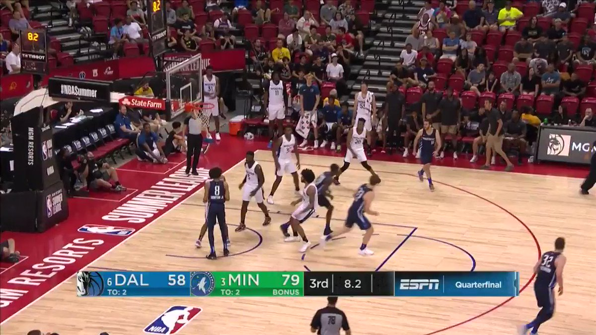 RT @Timberwolves: The Perfect 8-Second Drill  A Thesis by Barry Brown, Jr. https://t.co/sHad0Tkv9j