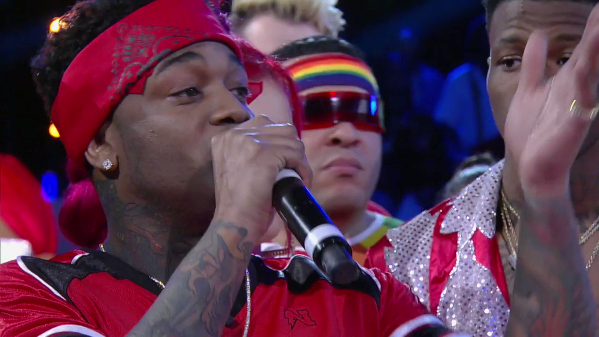 Of course @ConceitedNYC had to body this Wildstyle *drops mic* #WildNOut
