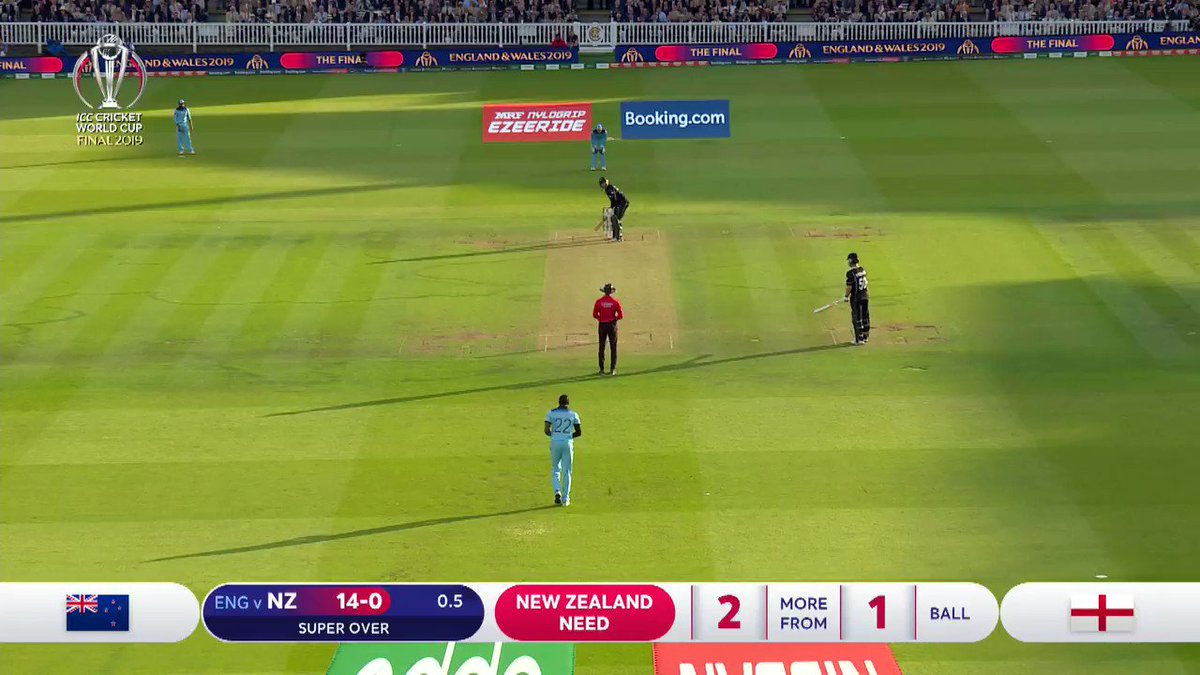 RT @ICC: The moment the World Cup was won 🙌🏼  #WeAreEngland | #CWC19 | #CWC19Final https://t.co/Vt8onfi9hU