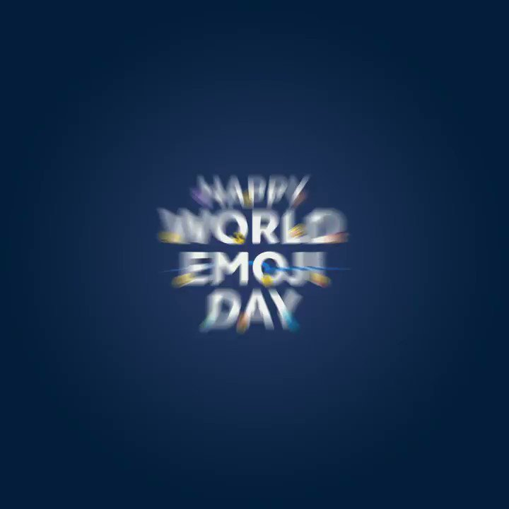 Today is #WorldEmojiDay! 😆  Get your emojis and game faces ready starting at 9:17 AM! 😉 #CreateWithLove