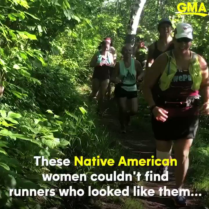 Were protecting each other. Heres how this group of Native American women found the strength to heal through running: gma.abc/2Gc58gm
