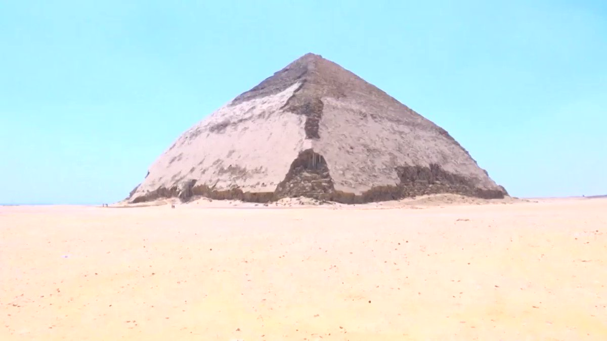 Egypt has opened a newly-restored pyramid built more than 4,500 years ago. Visitors will be able to climb down a 260-foot tunnel into the pyramid. http://cnn.it/2SgE9oI