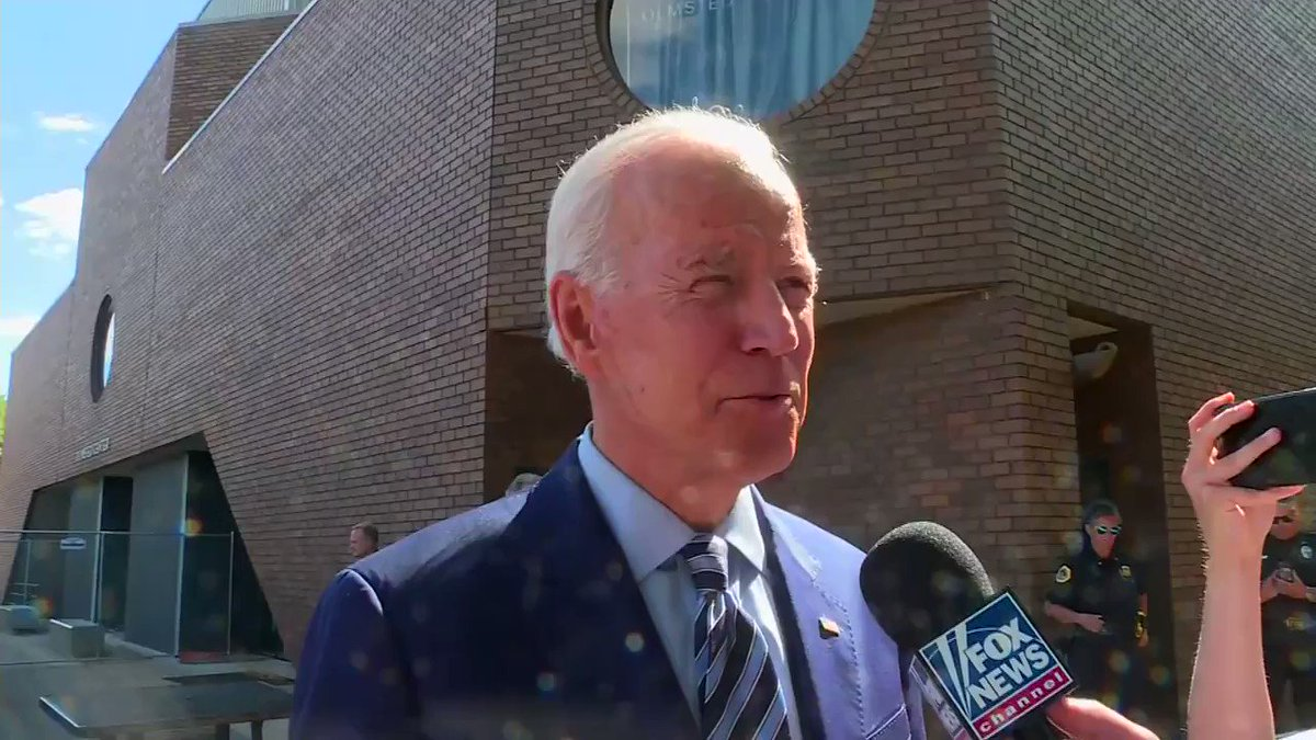 """Joe Biden: """"There has never been a President in American history who has been so openly racist and divisive as this man."""""""