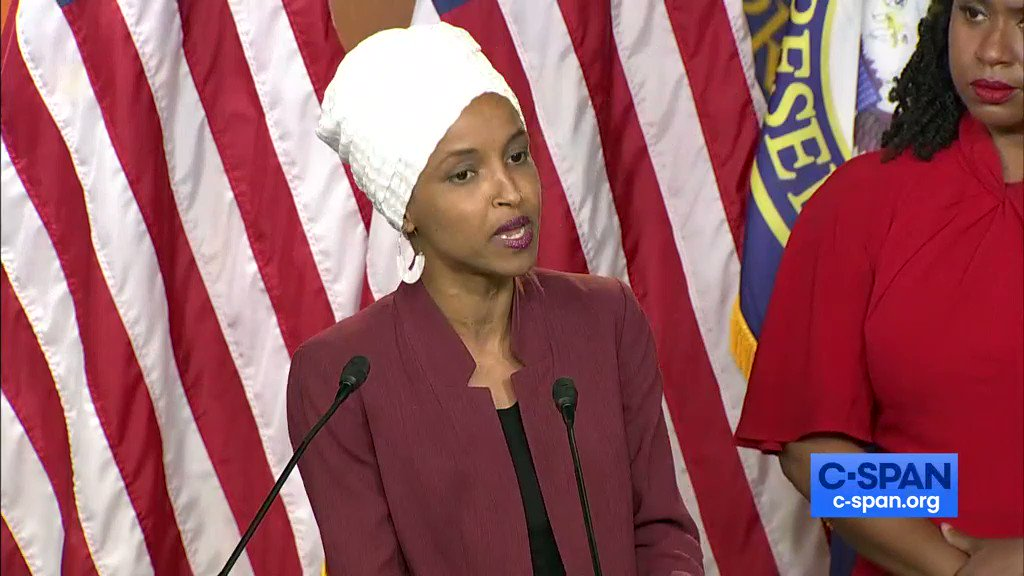 Rep. @Ilhan Omar: Its time for us to impeach this president. Full video here: cs.pn/2k5Ksia