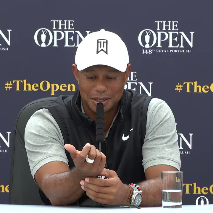 Tiger Woods texted Brooks Koepka to ask him if hed want to play a practice round together. Brooks didnt respond. 😳😳😳 This guy means business.