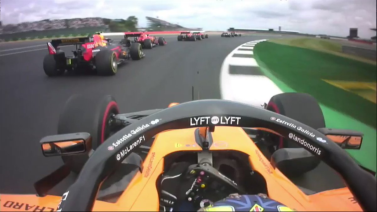 😱 Bagarre senza esclusione di colpi 🏎 @LandoNorris all'attacco di @PierreGASLY 😯 Quante emozioni nel #BritishGP 🔊 SOUND ON #SkyMotori #F1 #Formula1