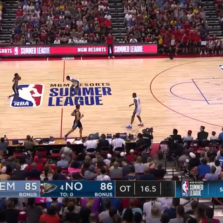 #RT @NBA: ⭐️ @TheReal_NAW1  ⭐️ @_bigjayy_  ⭐️ @brandonclarke23  ⭐️ @nunnbetter_  ⭐️ @23savage____   Watch the BEST PLAYS from the 2019 @NBASummerLeague First Team! #NBASummer