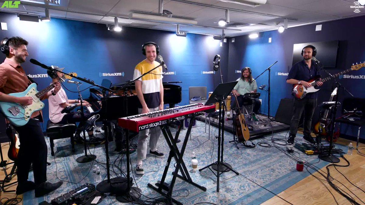 We dare you not to sing along to @bastilledans performance of Joy on @altnation. 🎤