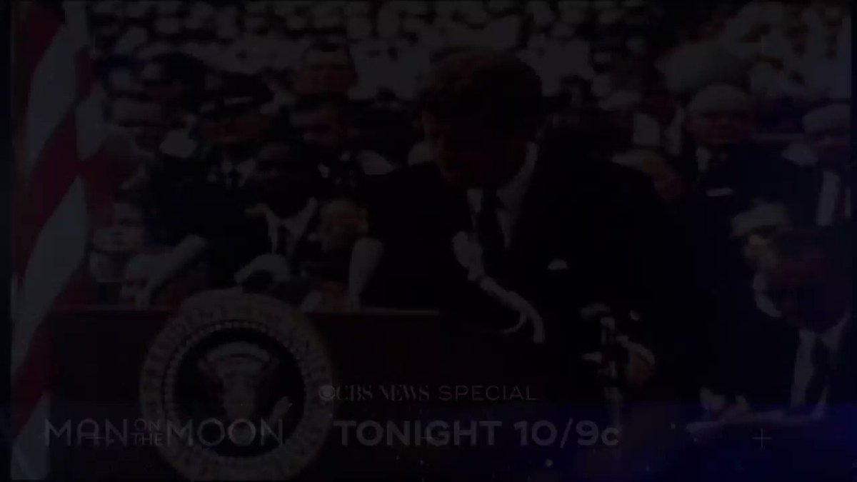 Apollo 11 landed on the moon 50 years ago. CBS News took you there. Now, watch the stunning footage like youve never seen it before. Man on the Moon airs TONIGHT at 10 p.m. ET on CBS cbsn.ws/2NZdAWN