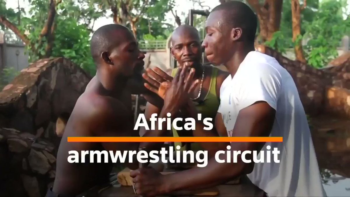 Armwrestling is gaining traction in Africa, with more than 300 taking part in this year's championship