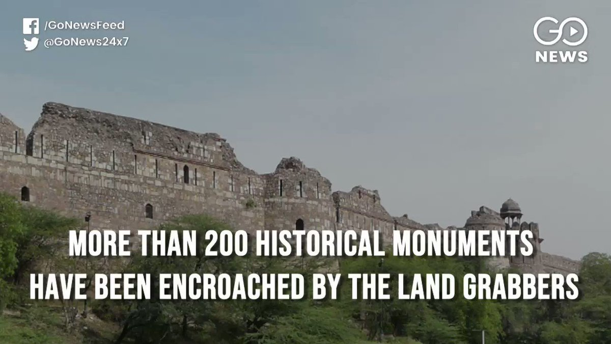 More than 200 #heritage sites and #monuments have been encroached by the land grabbers, according to the ministry of culture. @ShahnawazMalik_ reports