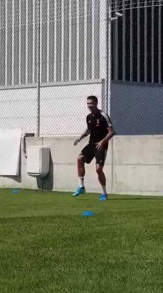 Nada para Cristiano Ronaldo! 🤣 Crédito: Juventus