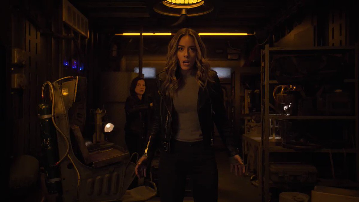 Just enjoying a #WCW with the powerful women of Earth. #AgentsofSHIELD