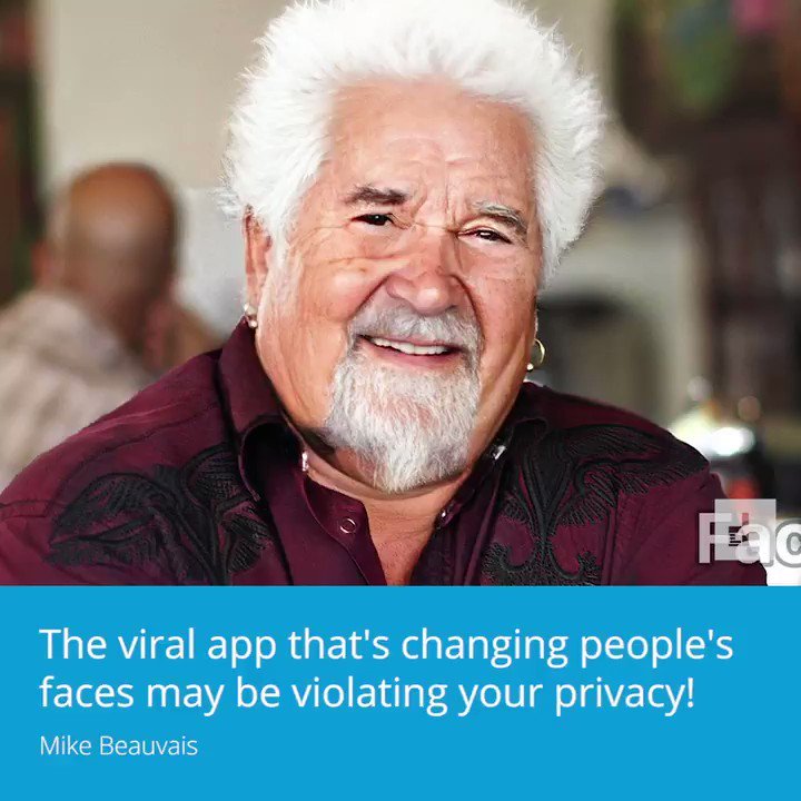 The viral app that's changing people's faces may be violating your privacy.