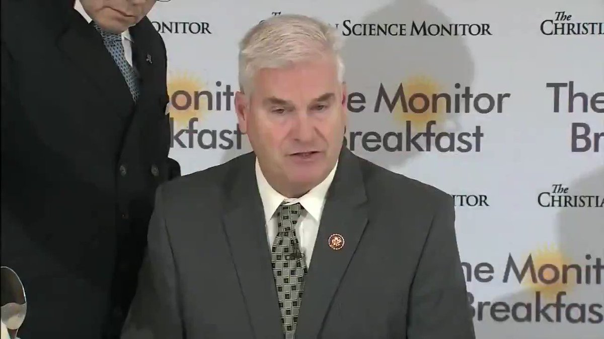 """Rep. Tom Emmer: """"There's not a racist bone in this president's body. What he was trying to say he said wrong. What he was trying to say is that if you don't appreciate this country you don't have to be here."""" http://hill.cm/FHzVKgN"""