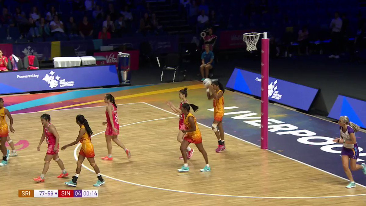 Sri Lanka's 🇱🇰 Tharjini Sivalingam ends the 2019 Netball World Cup as the highest goal scorer of the tournament with 348 goals