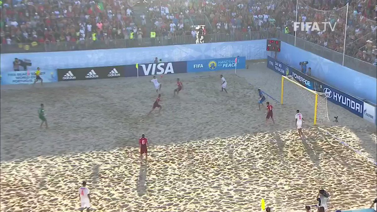 🇵🇹🏆✨ Finally, kings of the sand 👑  Having lost the first ever FIFA #BeachSoccerWC Final in 2005, Portugal ended their ten-year wait to lift the coveted trophy #onthisday in 2015.