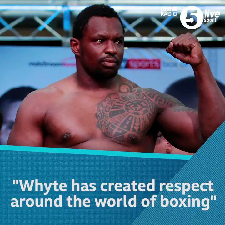 🌏 'Outside the top four, @DillianWhyte is the best heavyweight in the world'Only @anthonyfjoshua, @Tyson_Fury, @BronzeBomber and @Andy_destroyer1 are ahead of Dillian Whyte in the heavyweight division according to Mike CostelloAgree?📲🥊: http://bbc.in/2rR4cGY#bbcboxing