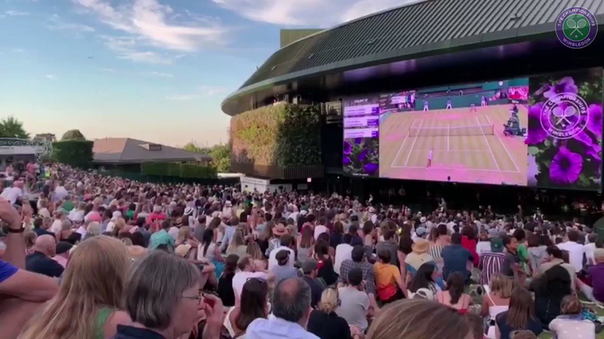 Two weeks ago today, @CocoGauff-mania peaked following her miraculous comeback win against Polona Hercog...#Wimbledon