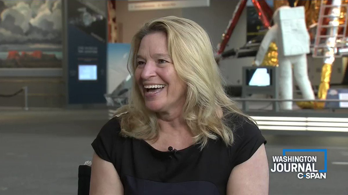 """.@airandspace's @ellenstofan on the 50th anniversary of the Apollo 11 moon landing:  """"What I've been trying to come back to in all the celebrations... it took 400,000 Americans to make this happen"""""""