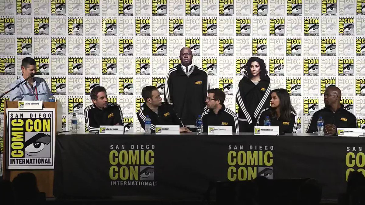 Who would be YOUR dream #Brooklyn99 guest star? #SDCC