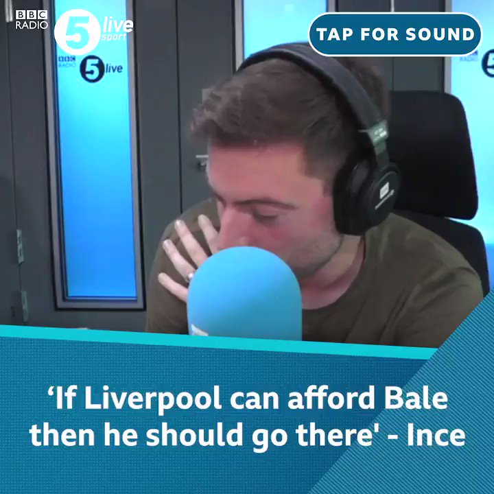 I actually think if Liverpool can afford Bale then he should go there 💰 @PaulInce says @GarethBale11 could help the #UCL winners in their hunt for the Premier League title 🏆 ⚽️ 📲 Download the Football Daily ➡️ bbc.in/2M7y4Ke #bbcfootball ⚽️#LFC 🔴