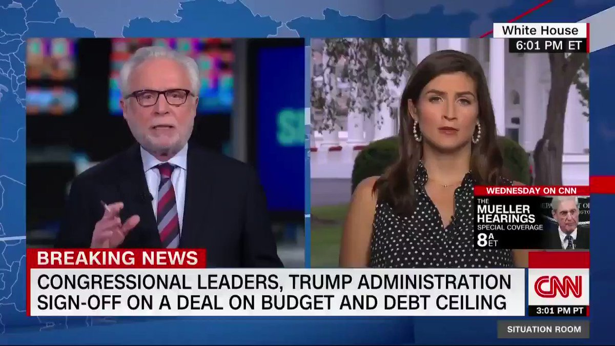 "President Trump says a sweeping two-year, $1.37 trillion budget deal has been struck with Congress, calling the plan a ""real compromise."" https://cnn.it/2Y6cAQt"