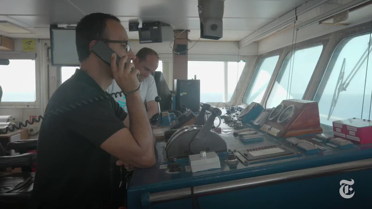 We're on board one of the last migrant rescue ships in the Mediterranean — the Sea-Watch 3 — as it finds 65 people floating in a rubber boat off the coast of Libya. The captain faces tough choices as Italian officials take aim to criminalize its mission. https://nyti.ms/2Yb6X3h