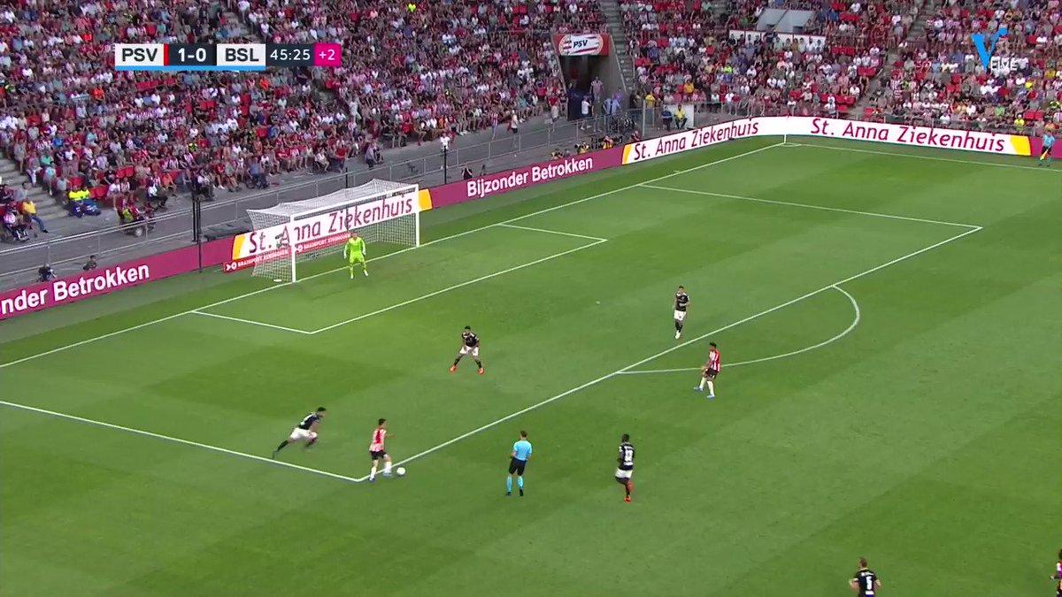 PSV - FC Basel 1-1 door Albian Ajeti