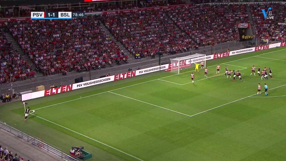 PSV - FC Basel 1-2 door Omar Alderete