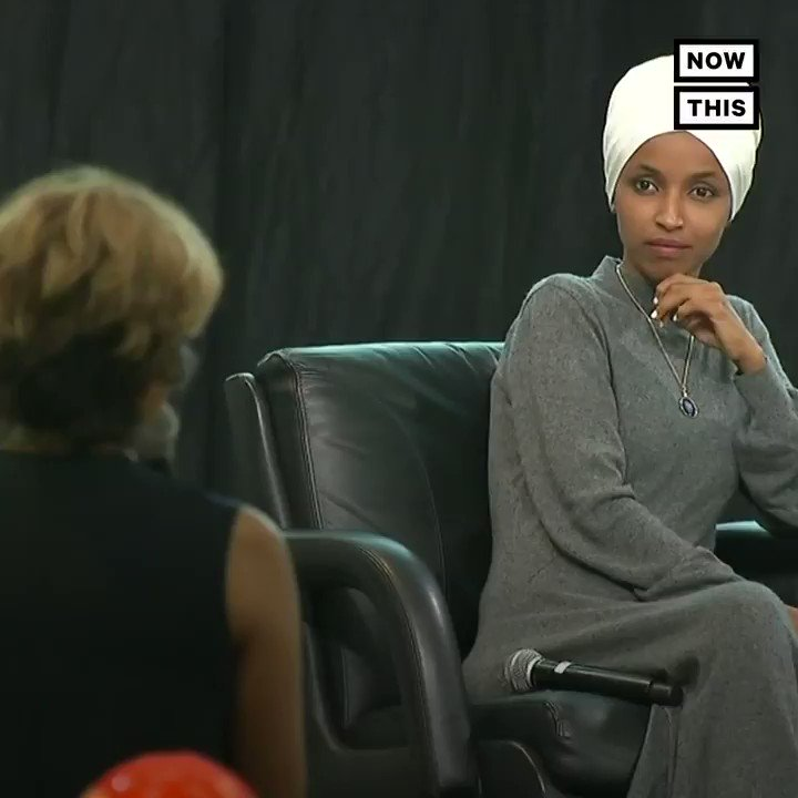 Ilhan Omar calls out an absurd and Islamophobic question