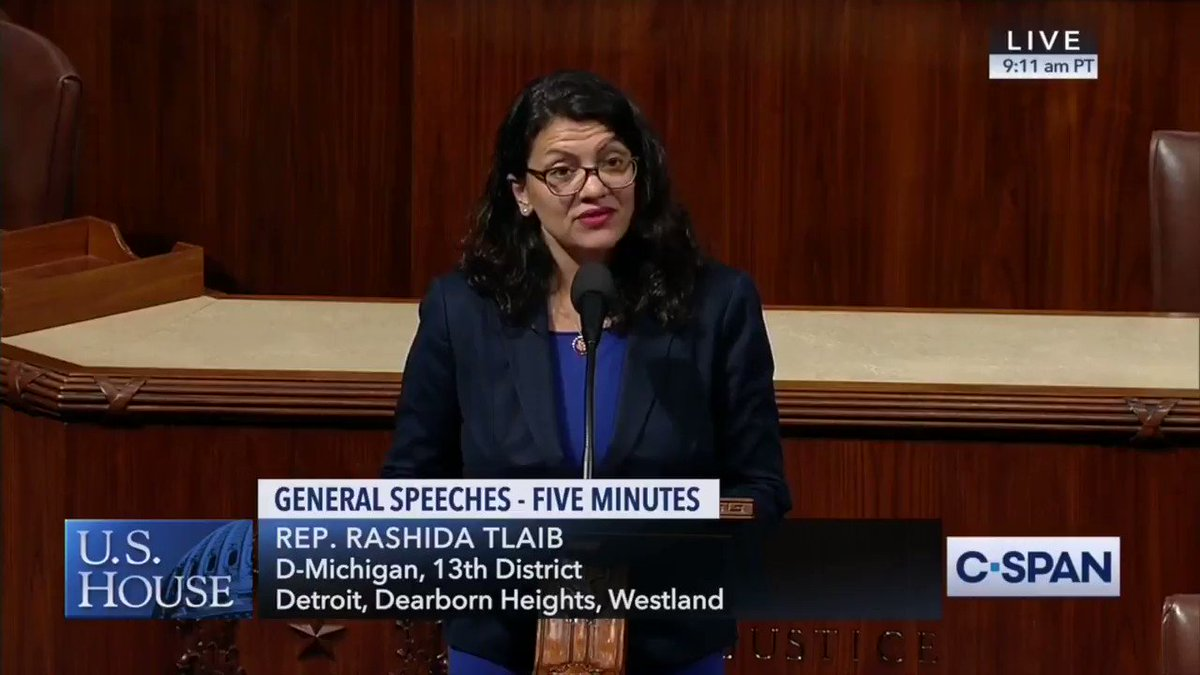 Today Squad Member Rep. Tlaib called Israels government racist & outrageously suggested the anti-Semitic BDS movement is equivalent to boycotting Nazi Germany. THIS is why we must pass the Senate bill to combat BDS & protect our ally Israel. Toothless resolutions won't cut it.