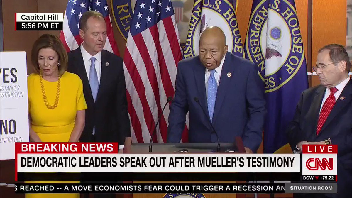 ...if you want to have a democracy intact for your children, and your childrens children, and generations yet unborn weve got to guard this moment, this is our watch.  -Rep. Elijah Cummings  We have the watch, Sir, we have the watch.