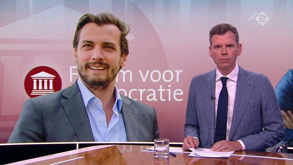 """Onrust binnen Forum voor Democratie. Thierry Baudet reageert: """"Je zou niet filmen"""""""
