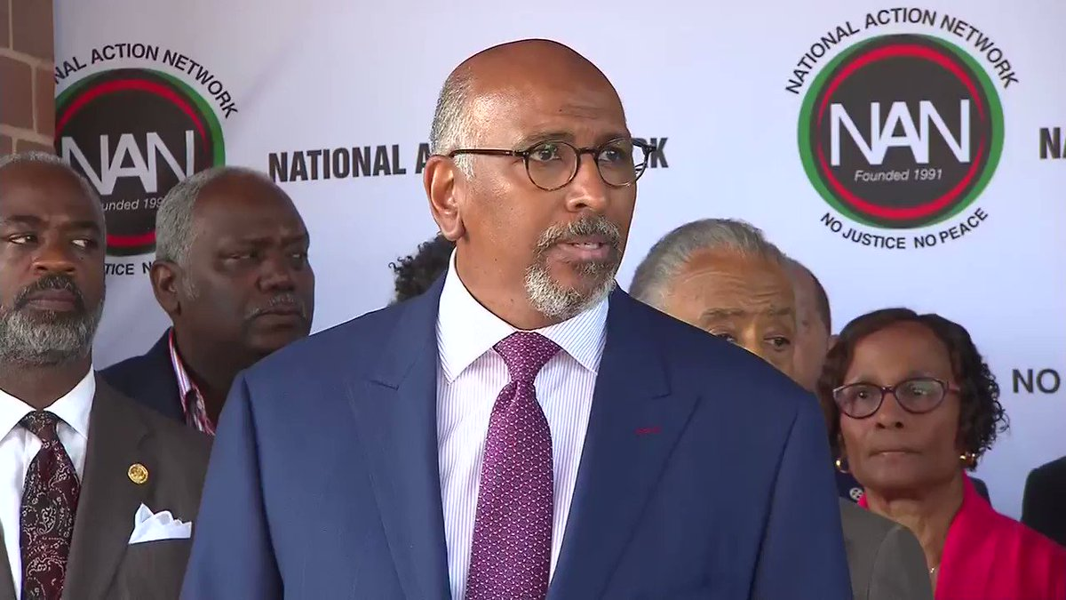 Michael Steele, Former Chairman of RNC: Mr. President, come on down [to Baltimore]. The streets are ready for you. The neighborhoods are ready for you. Folks want to talk to you. So just show up. Put the tweet down, brother, and show up.